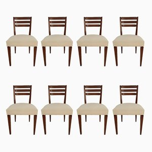 Art Deco Chairs by Louis Majorelle, Set of 8