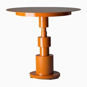 Orangener Periplo Tisch von Sara Mondaini für Officine Tamborrino