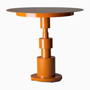 Table Periplo Orange par Sara Mondaini pour Officine Tamborrino