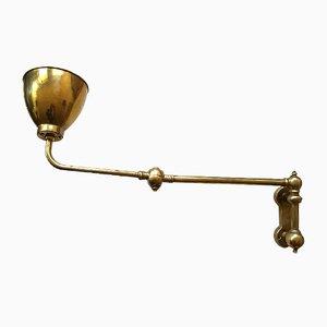 Vintage Lampe aus Messing