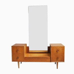 British Chest of Drawers with Full Length Mirror, 1960s
