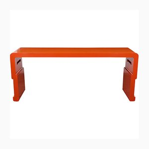 Console Table with Lacquered Finish, 1970s