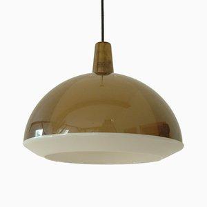 Lámpara de techo Kuplat vintage de Yki Nummi para Orno