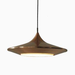 Lámpara colgante Kuli vintage de Ejnar Mielby para Lyfa