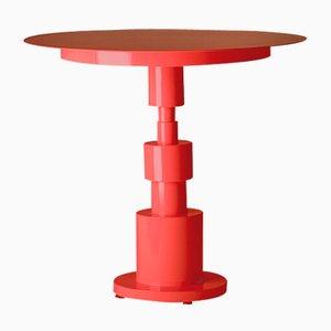 Tavolo Periplo rosso lampone di Sara Mondaini per Officine Tamborrino