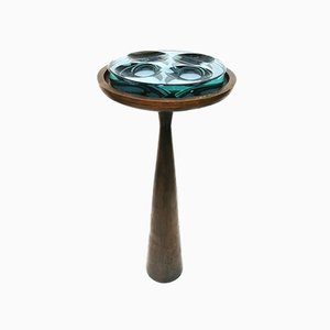 Model 1776 Bronze Ashtray Table by Max Ingrand for Fontana Arte, 1960s