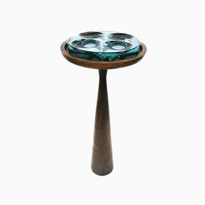 Model 1776 Bronze Ashtray Table by Max Ingrand for Fontana Arte, 1960s