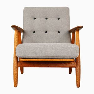 GE240 Cigar Armchair by Hans J. Wegner for Getama, 1950s