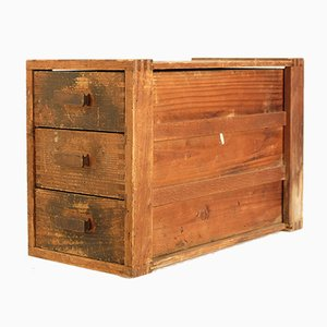 Kleine Vintage Schubladenbox