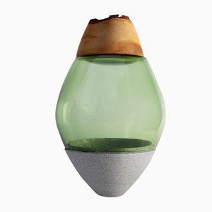 Sculpture Vases Empilables Africa Verte par Utopia & Utility, 2014