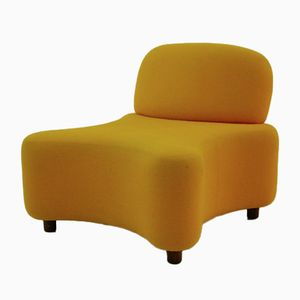 Orange Lounge Chair, 1960s