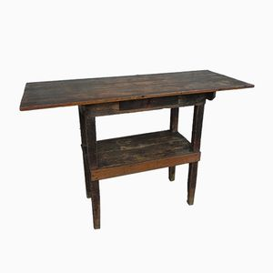 Antique Dutch Pine Workbench