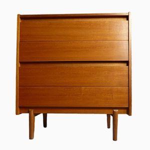 Mid-Century Teak Tallboy by John Herbert for A. Younger Ltd.