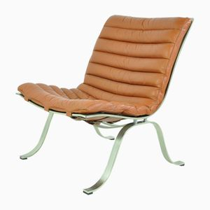 Swedish Ariet Lounge Chair by Arne Norell for Norell AB, 1960s