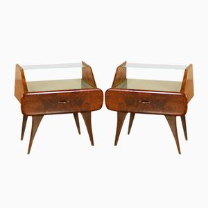 Bedside Tables by Osvaldo Borsani, 1940s, Set of 2