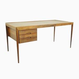 Freistehender dänischer Schreibtisch von Erik Riisager Hansen für Haslev Møbelsnedkeri, 1960er