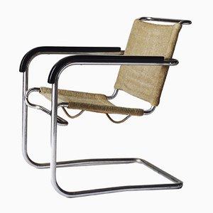 Sedia cantilever B34 vintage di Marcel Breuer per Thonet