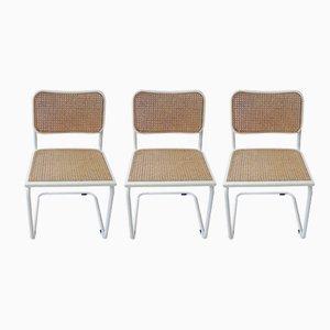 Cesca Stuhl von Marcel Breuer, 1970er, 3er Set