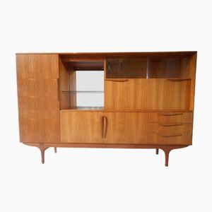 Scandinavian Teak Sideboard by Tricoire et Vecchione for Meubles TV, 1960s