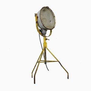 Industrielle schwedische Mid-Century Stehlampe
