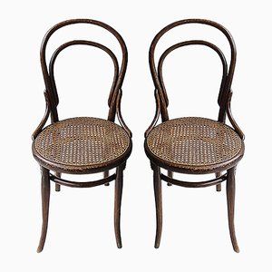 Chaises Bistro de Thonet, 1920s, Set de 2