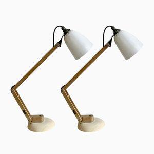Vintage Anglepoise Schreibtischlampen von Terence Conran für Habitat, 2er Set