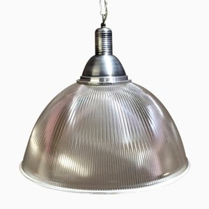 Large Industrial Pendant from Holophane, 1960s