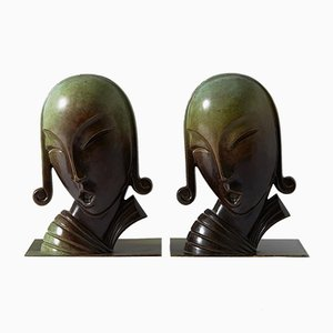 Bookends by CE Borgström for Ystad-Metall, 1930s, Set of 2