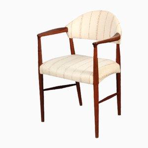 Teak Armchair by Ejnar Larsen and Aksel Bender Madsen, 1950s