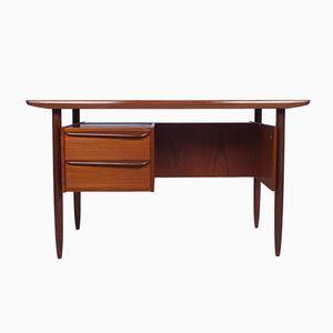 Vintage Teak Desk from Hulmefa Nieuwe Pekela