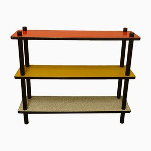 Mid-Century Stokkenkast Shelves by W. Lutjens for Gouda den Boer