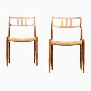 Model 79 Chairs by Niels Otto Møller for J.L Moller, 1960s, Set of 2