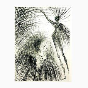 Gravure à l'Eau-Forte Old Faust par Salvador Dalí, 1969
