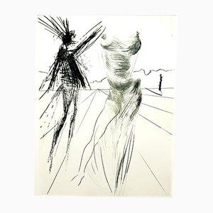 Gravure à l'Eau-Forte Sator de Faust par Salvador Dalí, 1969