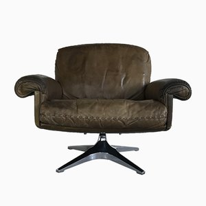 Mid-Century DS 31 Swivel Lounge Chair from de Sede, 1970s