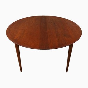Round Teak Table by Peter Hvidt & Orla Mølgaard-Nielsen for France & Daverkosen, 1960s