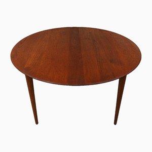 Runder Tisch aus Teak von Peter Hvidt & Orla Mølgaard-Nielsen für France & Daverkosen, 1960er