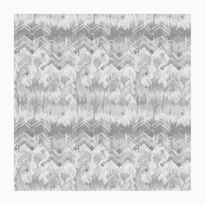 Brushed Herringbone Wallpaper by 17 Patterns