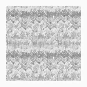 Papier Peint Brushed Herringbone par 17 Patterns