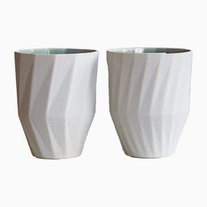 Stratigraphic Mugs by Unfold, Set of 2