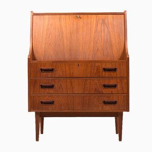 Vintage Danish Secretaire in Teak