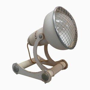 Lámpara de mesa industrial de Philips, años 50