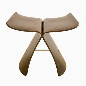 Mid-Century Butterfly Stool in Rosewood by Sori Yanagi