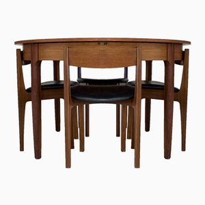 Mid-Century Teak Dining Set from Bath Cabinet Makers