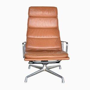 Poltrona lounge EA222 di Charles & Ray Eames per Herman Miller, anni '60