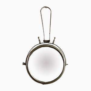 Round Barber's Mirror, 1920s