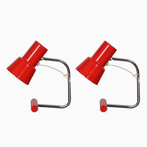 Lámparas checas modelo 85133 de Josef Hurka para Napako, años 60. Juego de 2