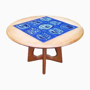 Tavolino da caffè vintage di Guillerme & Chambron per Votre Maison