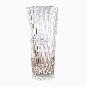 Vaso di vetro di Bohemia Glass, anni '60