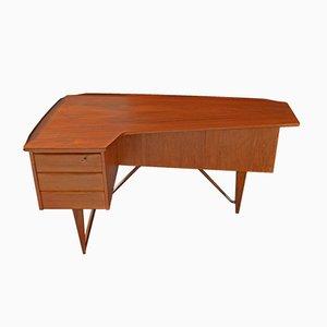Boomerang Desk by Peter Løvig Nielsen, 1960s